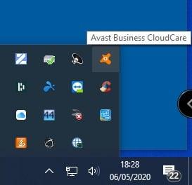 Open Avast Cloudcare