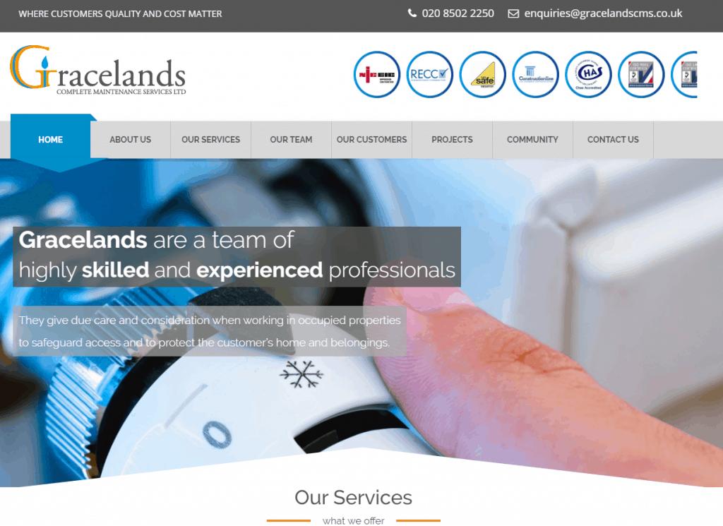 gracelands_website